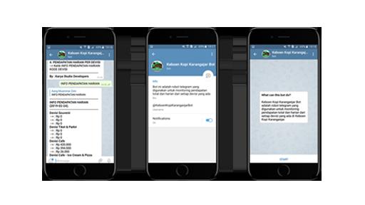 Bot Telegram Monitoring Pendapatan Devisi Keboen Kopi Karanganjar