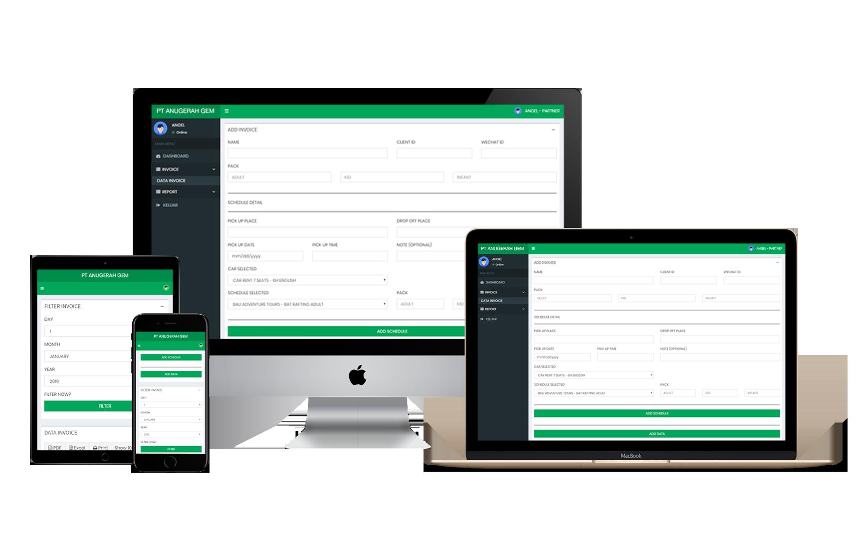 Smart Partner Invoice Management System PT Anugerah Gemilang